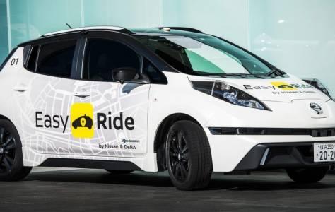 Nissan иска таксита без водачи за Олимпиадата през 2020 г.