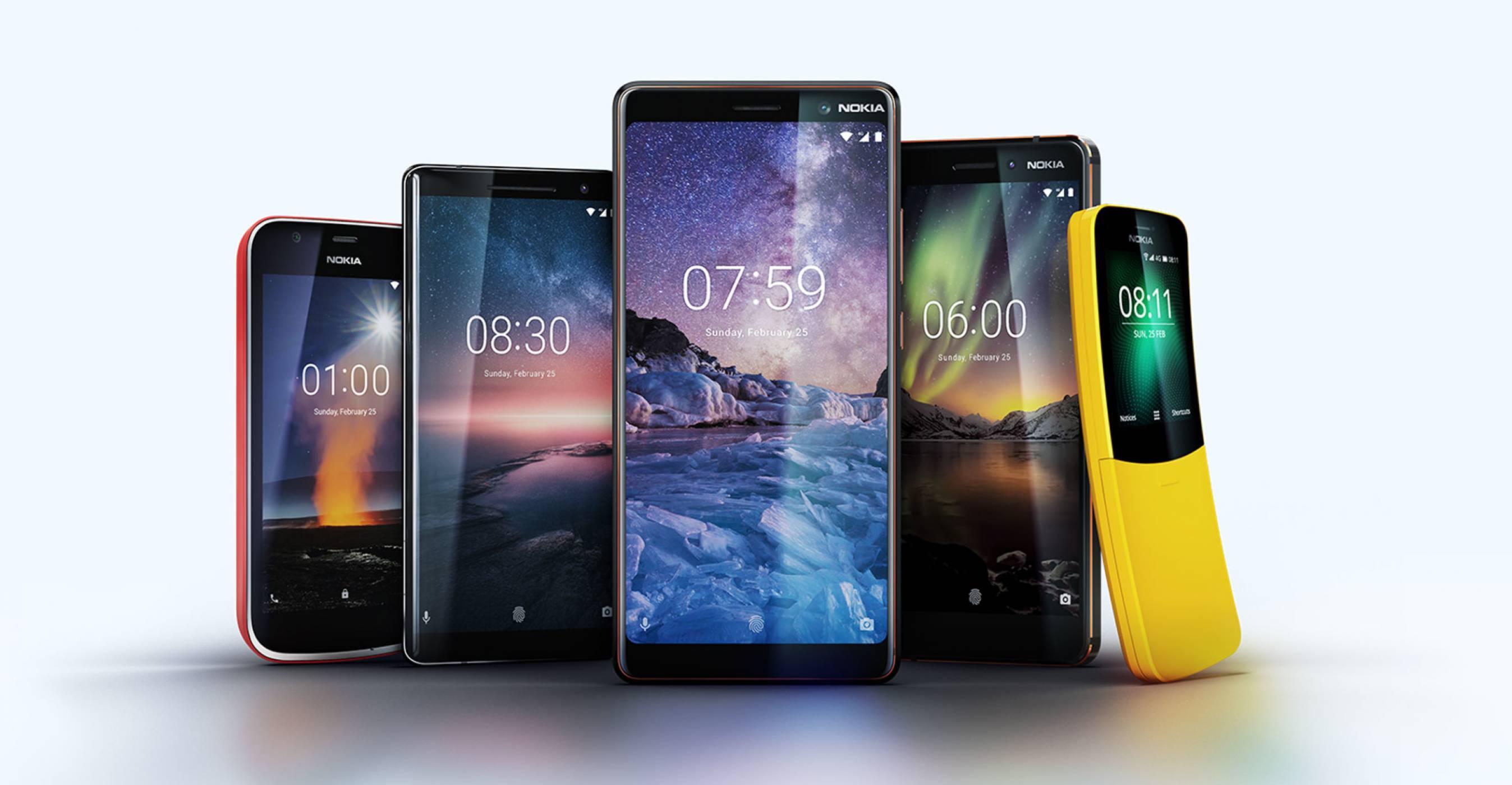 Nokia на MWC 2018: обновена смартфон линия и завръщането на телефона от