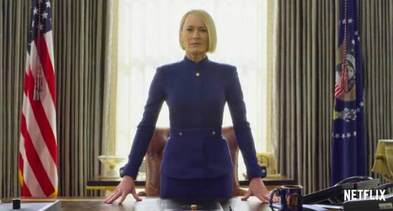 Клеър Ъндърууд поема властта в новия трейлър на House of Cards