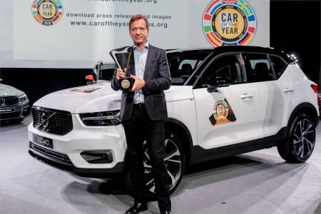 Volvo XC40 стана автомобил на годината 2018 за Европа