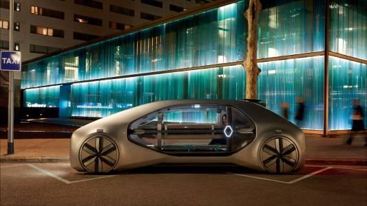 Renault представи решението си за споделено пътуване: автономния EZ-GO