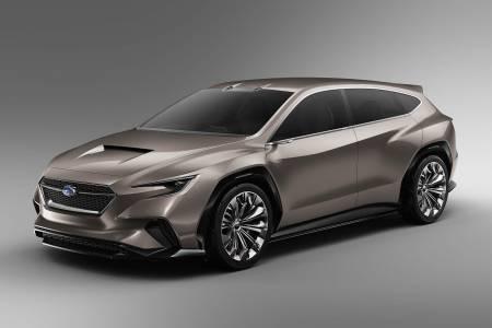 Концептуалният Viziv Tourer показва идеите за многофункционален автомобил на Subaru