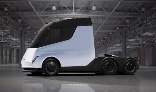 Tesla Semi направи първия си пробег с товар