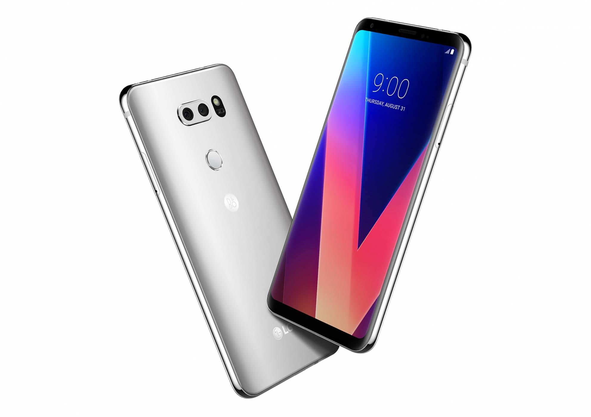 Новите смартфони от LG са подобрени версии на LG V30 на по-висока цена