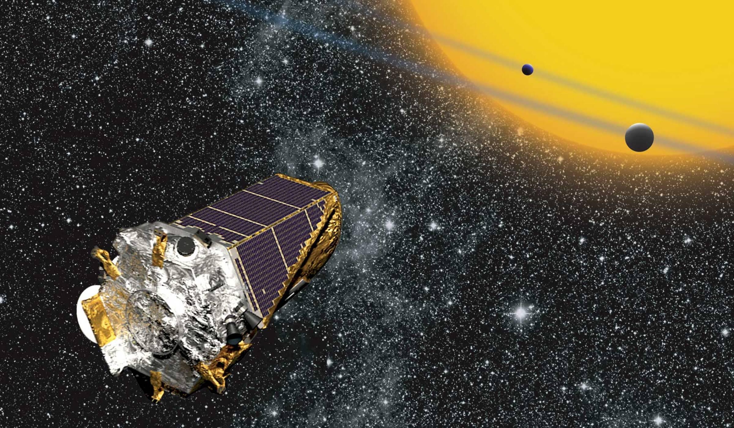 Koсмическият кораб Kepler наближава края на своята мисия