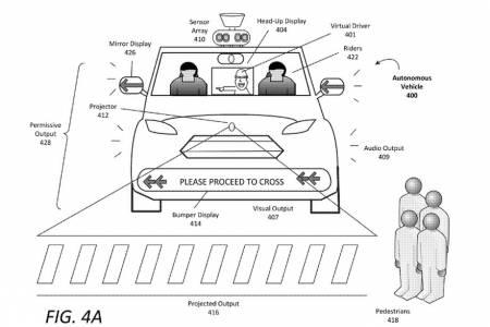 Мигащи фарове и странни шумове за комуникация между колите и пешеходците на бъдещето