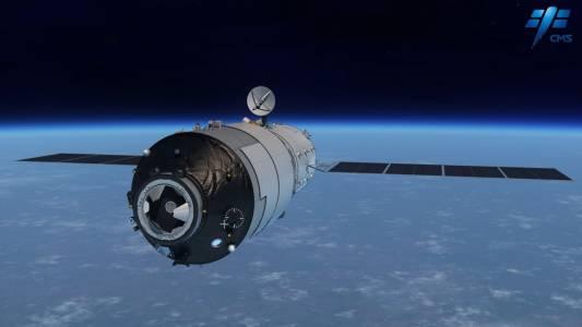 """Китайската станция """"Тиенгун-1"""" ще падне на Земята до три седмици"""