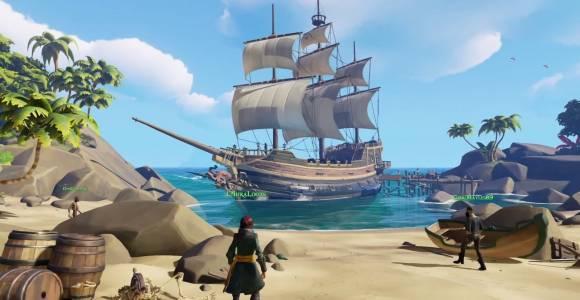 Виртуалните пирати сринаха сървърите на Sea of Thieves