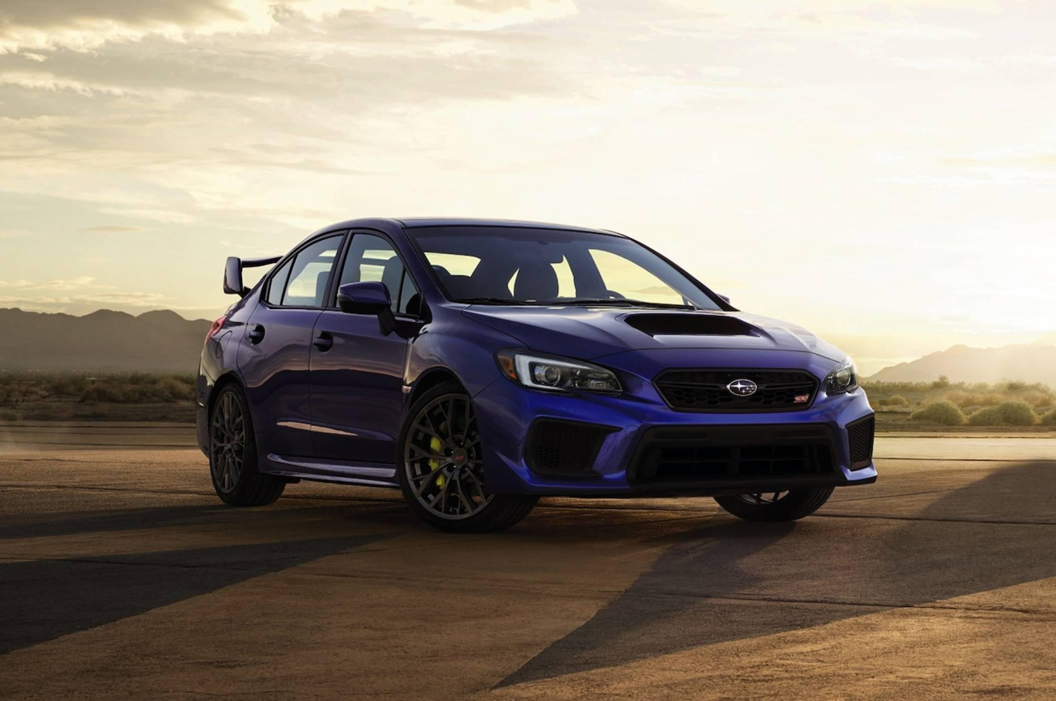 2019 Subaru WRX STI най-после ще предлага повече мощност