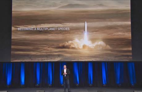 Могъщата ракета на SpaceX започва завладяването на Космоса от Лос Анджелис
