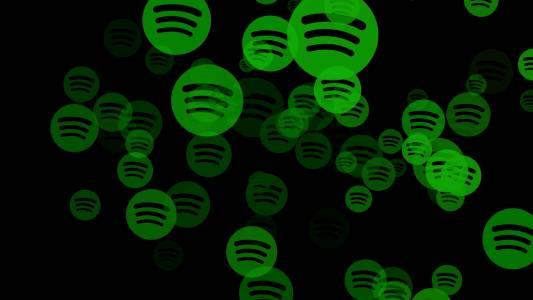 Това вероятно е новият интерфейс на безплатната версия на Spotify