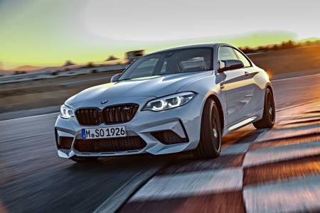 BMW M2 Competition пристига с 405 к.с. и още по-агресивна визия