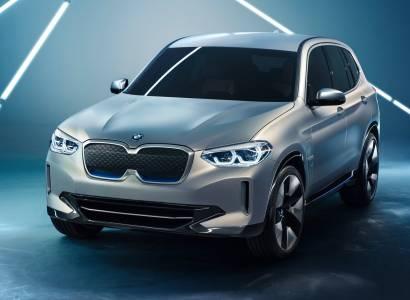 BMW Concept iX3 е официално представен