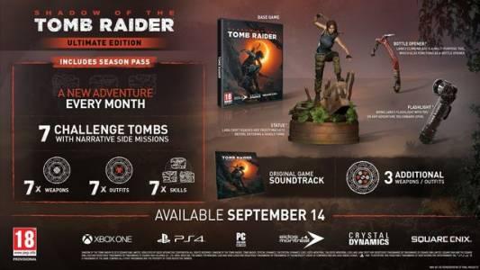 Отварачка е тайното оръжие на Лара в специалното издание на Shadow of the Tomb Raider