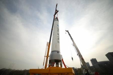 Китайската компания ОneSpace Technologies изстреля първата си тестова ракета