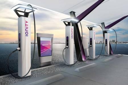 Това са модерните бързозарядни станции на BMW