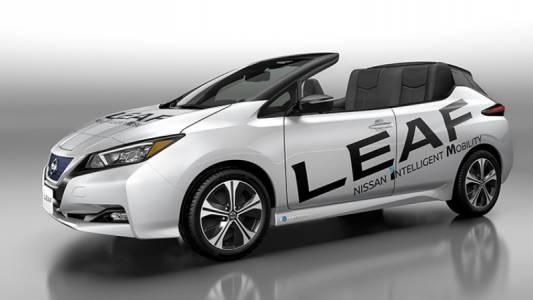 Този Nissan Leaf кабрио е и истински, и недостъпен