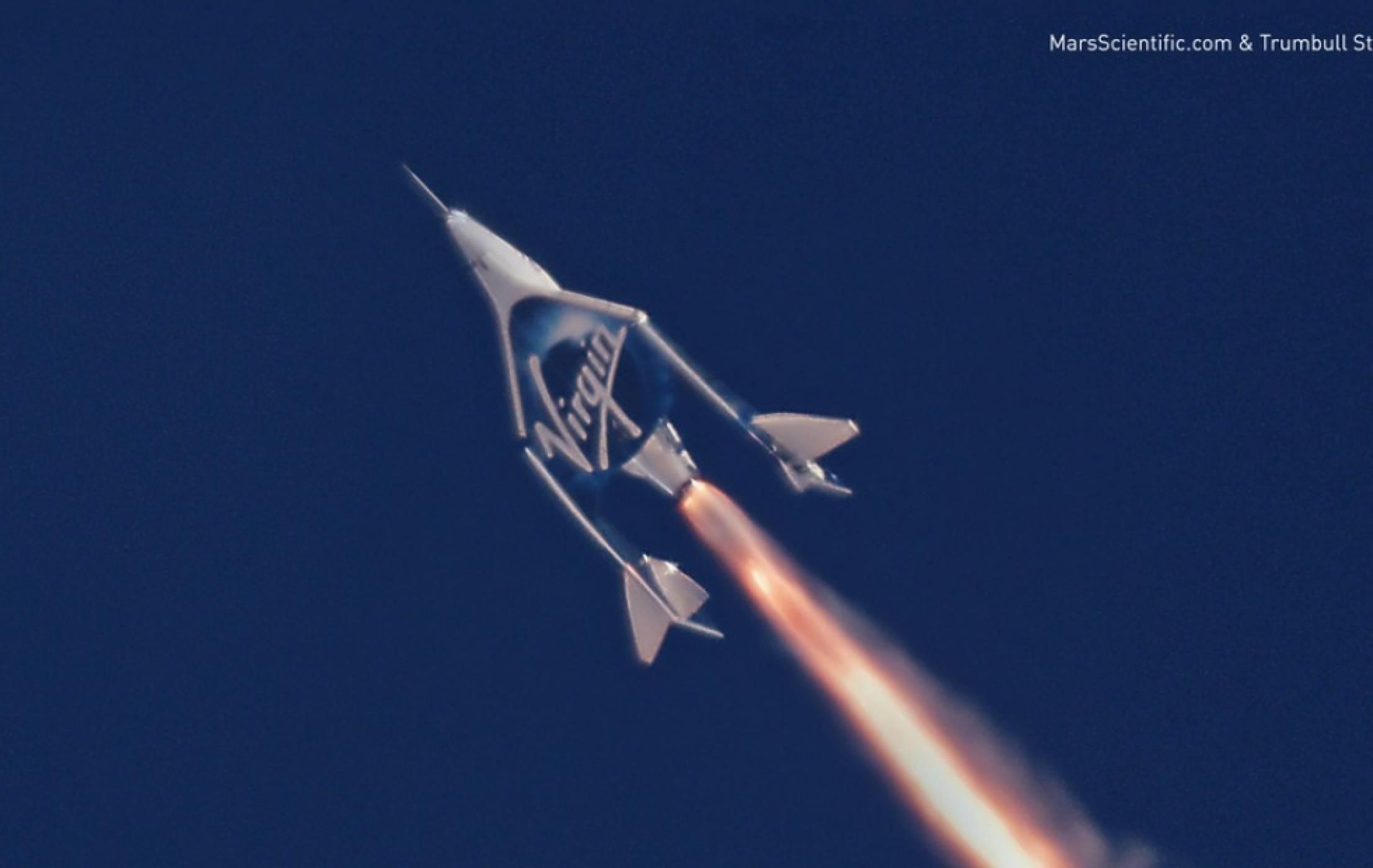 Virgin Galactic изпълни успешно втори свръхзвуков полет
