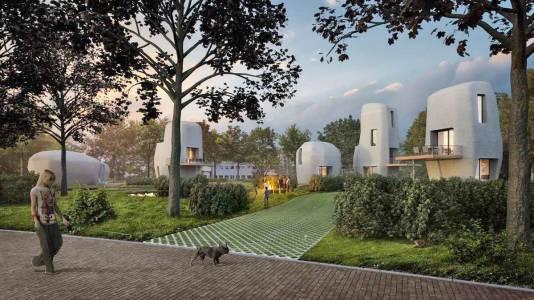 Тази 3D принтирана къща ще посрещне своите обитатели догодина