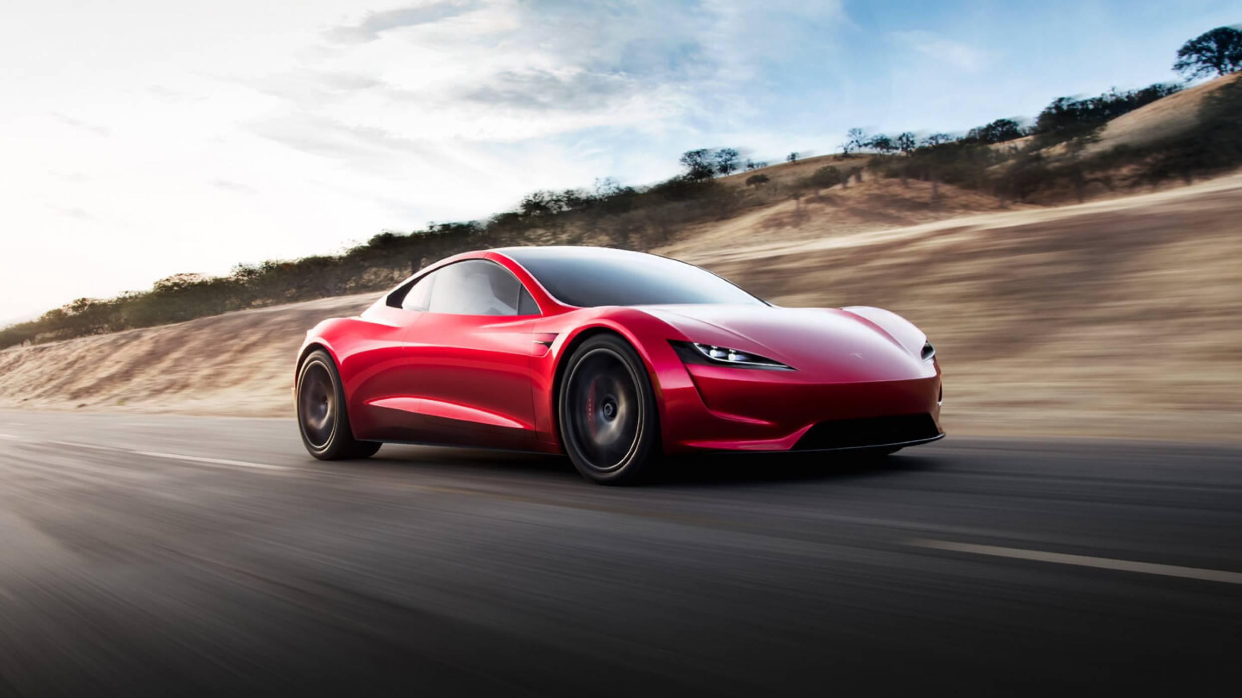 Tesla Roadster развива космическа скорост със SpaceX бонус пакет