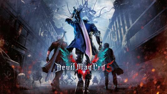 Ловът на демони в Devil May Cry 5 започва преди април 2019 г.