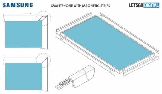 """Samsung патентова нов конструкционен метод за """"безрамков"""" дизайн"""