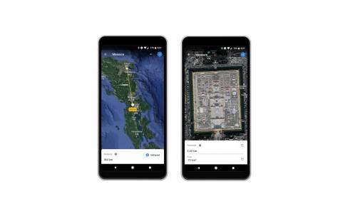 Google Earth вече може да измери разстоянието между вас и Лувъра