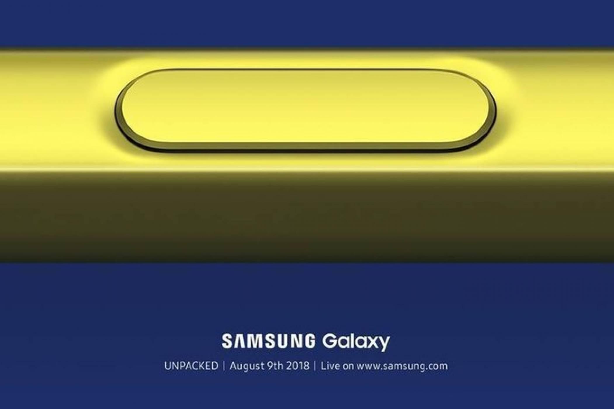 Samsung Galaxy Note 9 в целия му блясък на 9 август