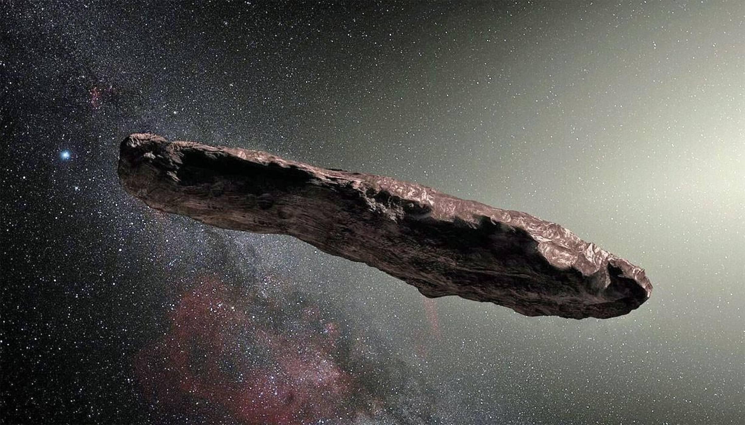 Астероидът Oumuamua  финално се оказа комета