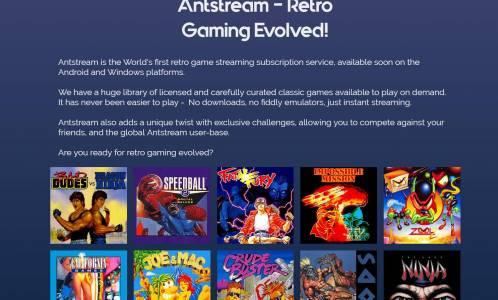 Antstream е нова стрийминг услуга за почитателите на ретро гейминга