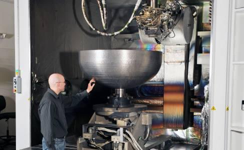 Lockheed Martin създаде един от най-големите 3D принтирани космически елемента