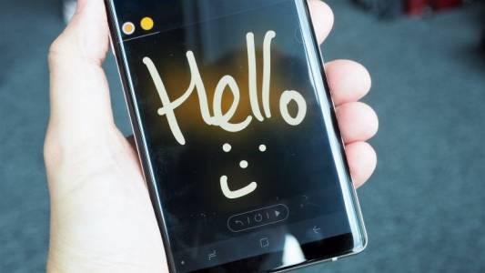 Тази изтекла снимка на Galaxy Note 9 изглежда съвсем достоверна