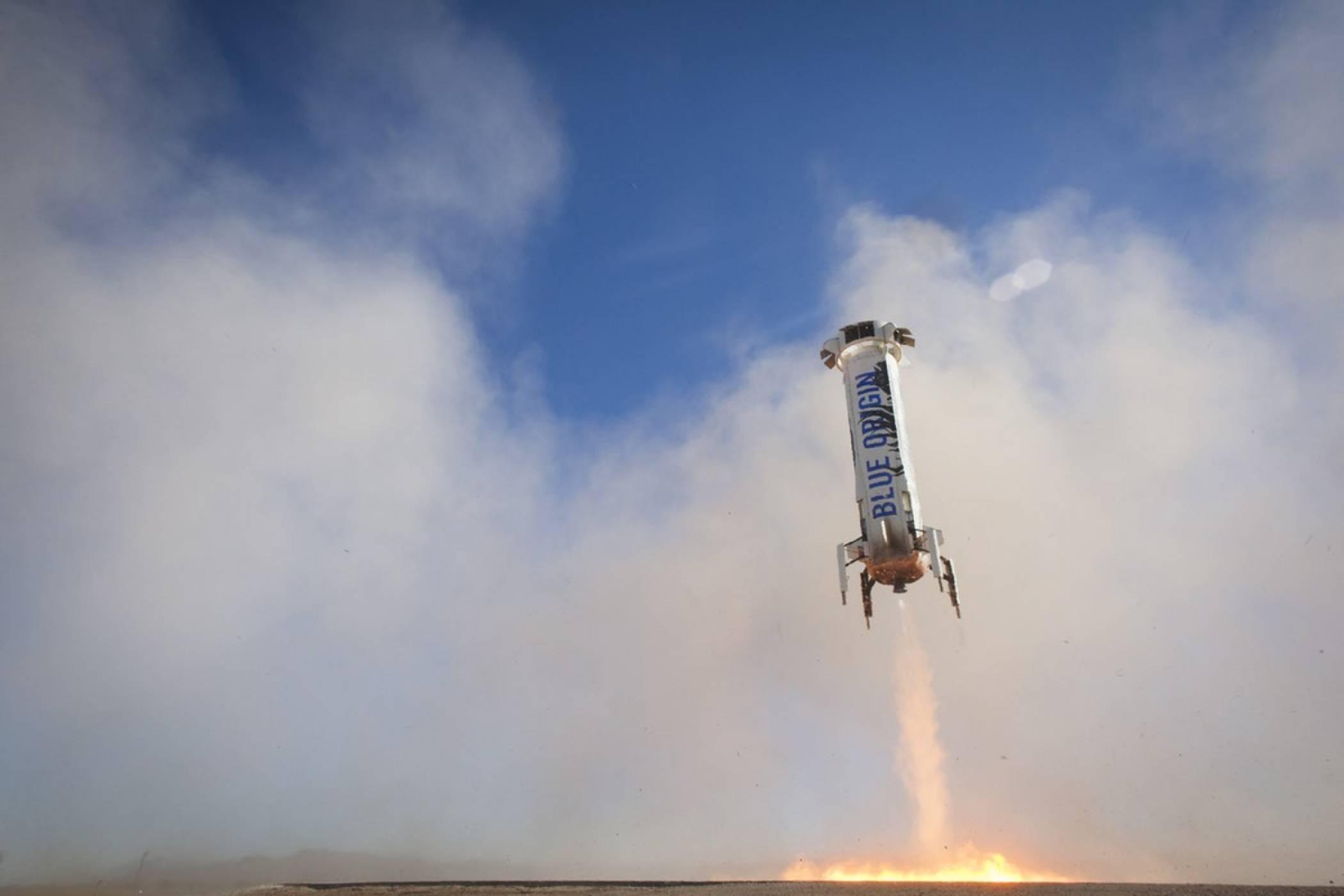 Ракетата New Shepard бе изстреляна по-далеч от всякога