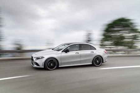Mercedes-Benz A-класа: нова компактна лимузина на пазара в края на 2018 година