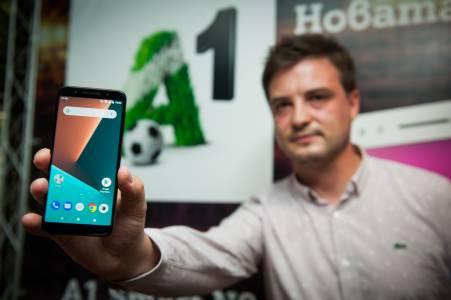 A1 представи първия си собствен смартфон