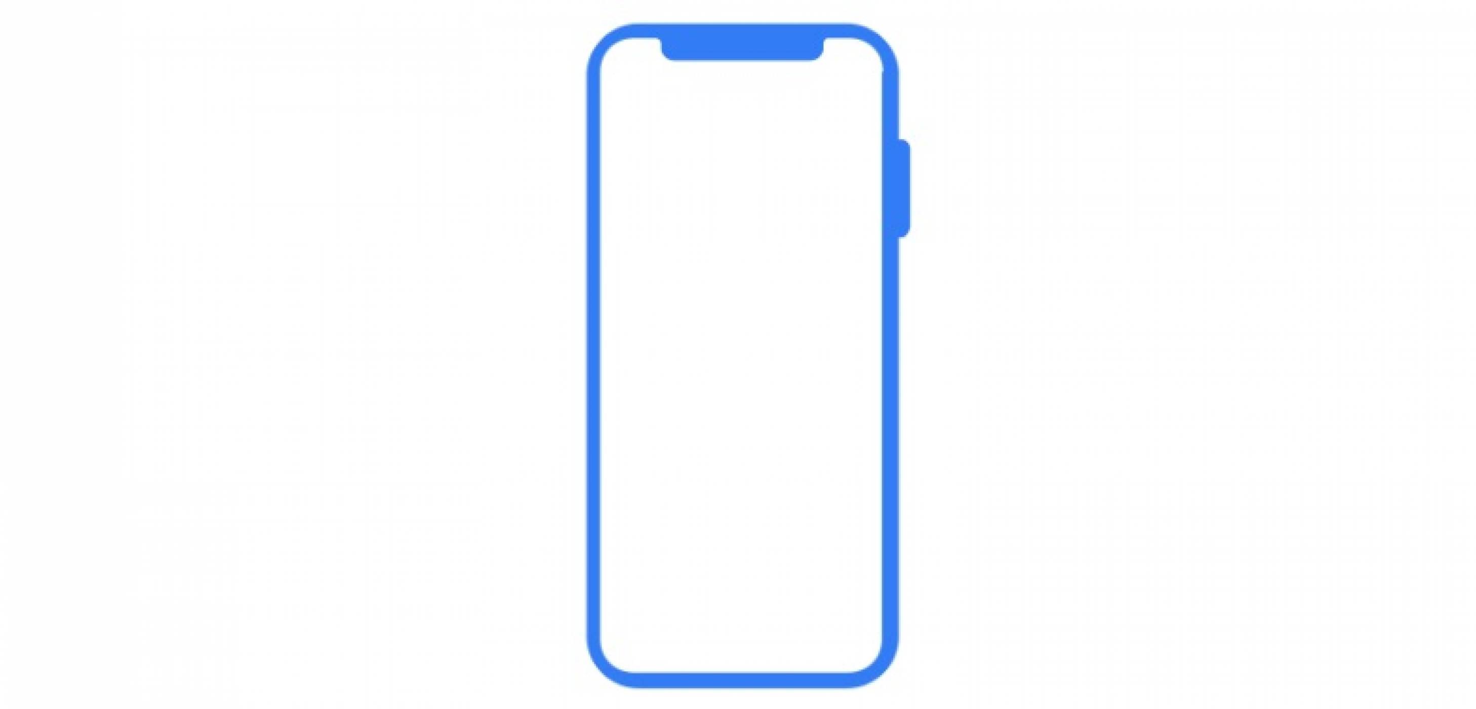 Скица на iPhone X Plus разкрита в последната бета версия на iOS 12