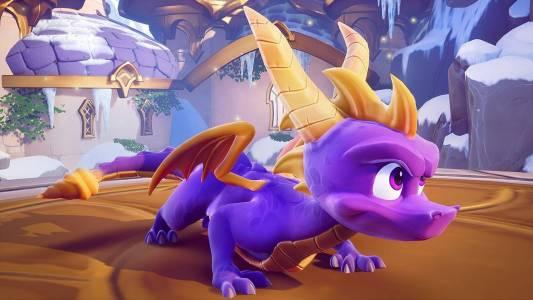 Задръжте ретро трепета: трилогията Spyro е забавена за ноември