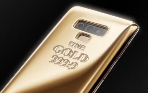Този Galaxy Note 9 с 1 кг злато е начинът да изпъкнете навсякъде