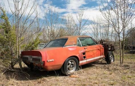 Невероятно ценен прототип Ford Shelby EXP от 1967 г. бе открит в гората