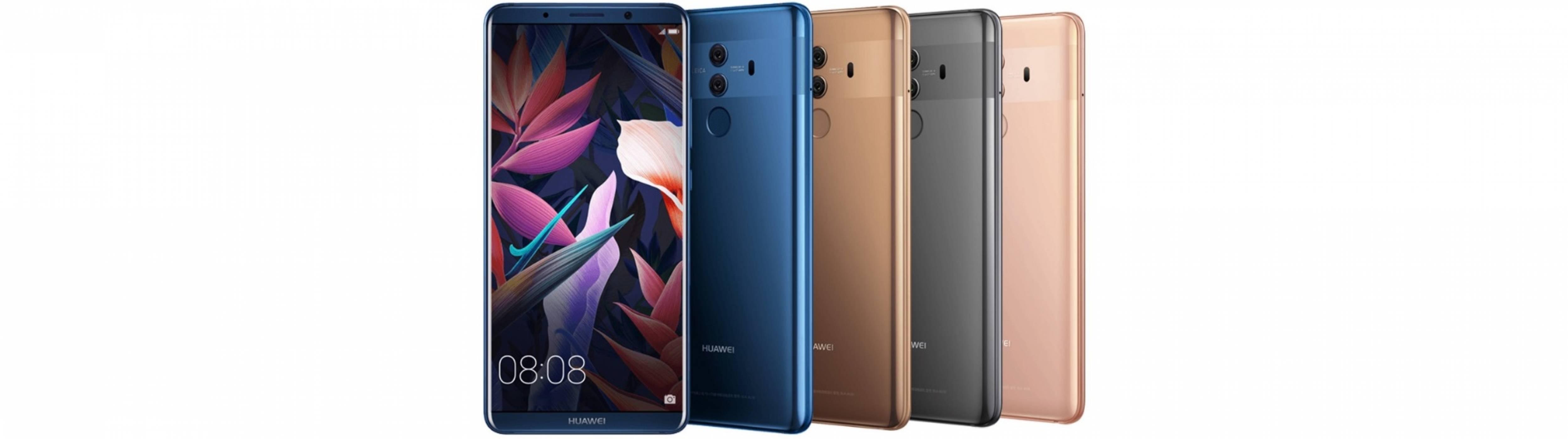 Huawei Mate 10 и Mate 10 Pro с подобрена функционалност за нощни снимки
