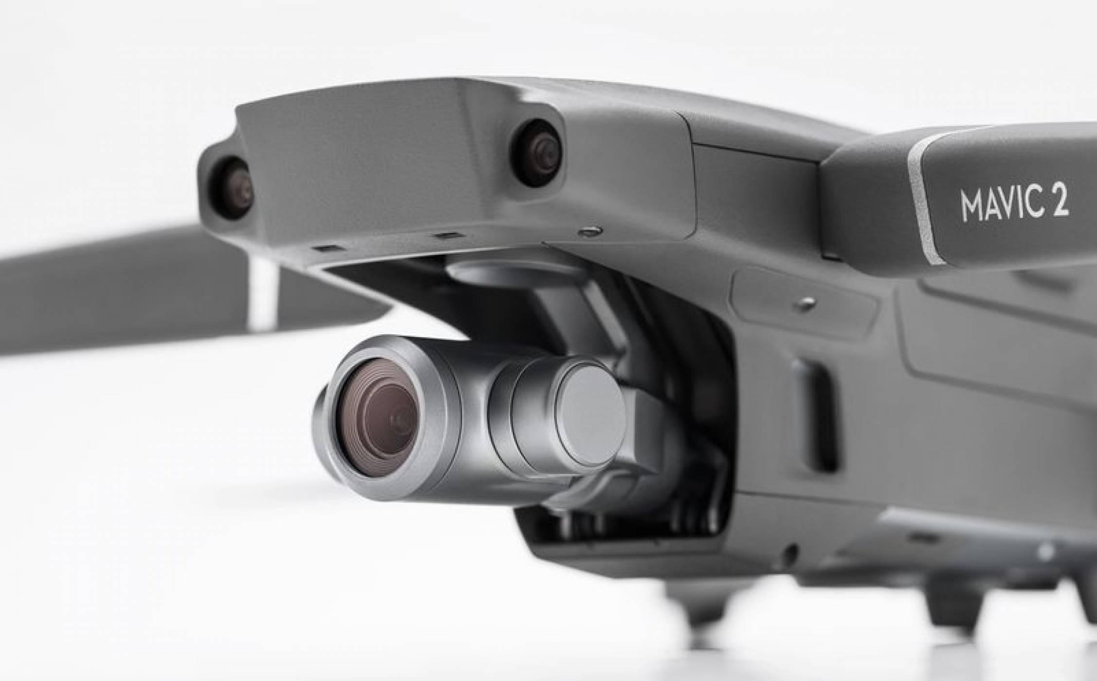Новите дронове Mavic 2 на DJI имат подобрени камери и лещи