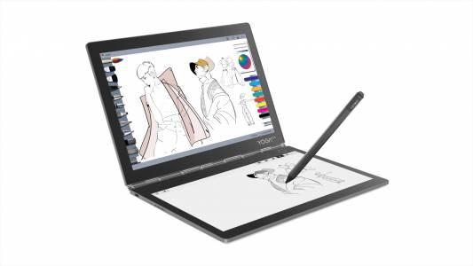 IFA 2018: Lenovo показа първия хибрид с два екрана – Yoga Book