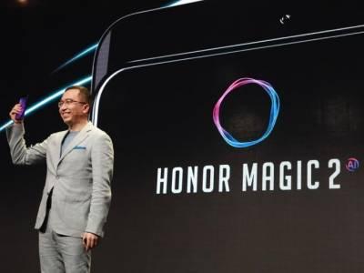 Honor Magic 2 има слайдър камера и най-новия чипсет Kirin 980