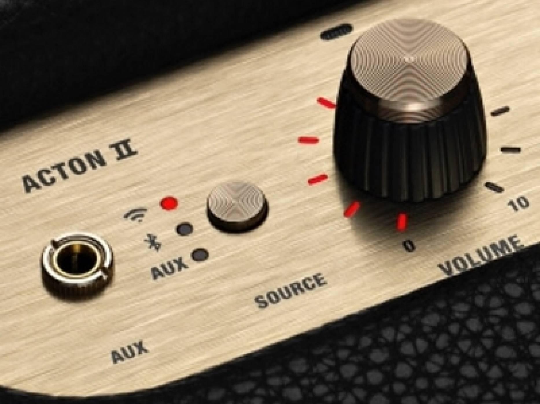 Marshall Action II Voice прилича на китарен усилвател и работи с Amazon Alexa