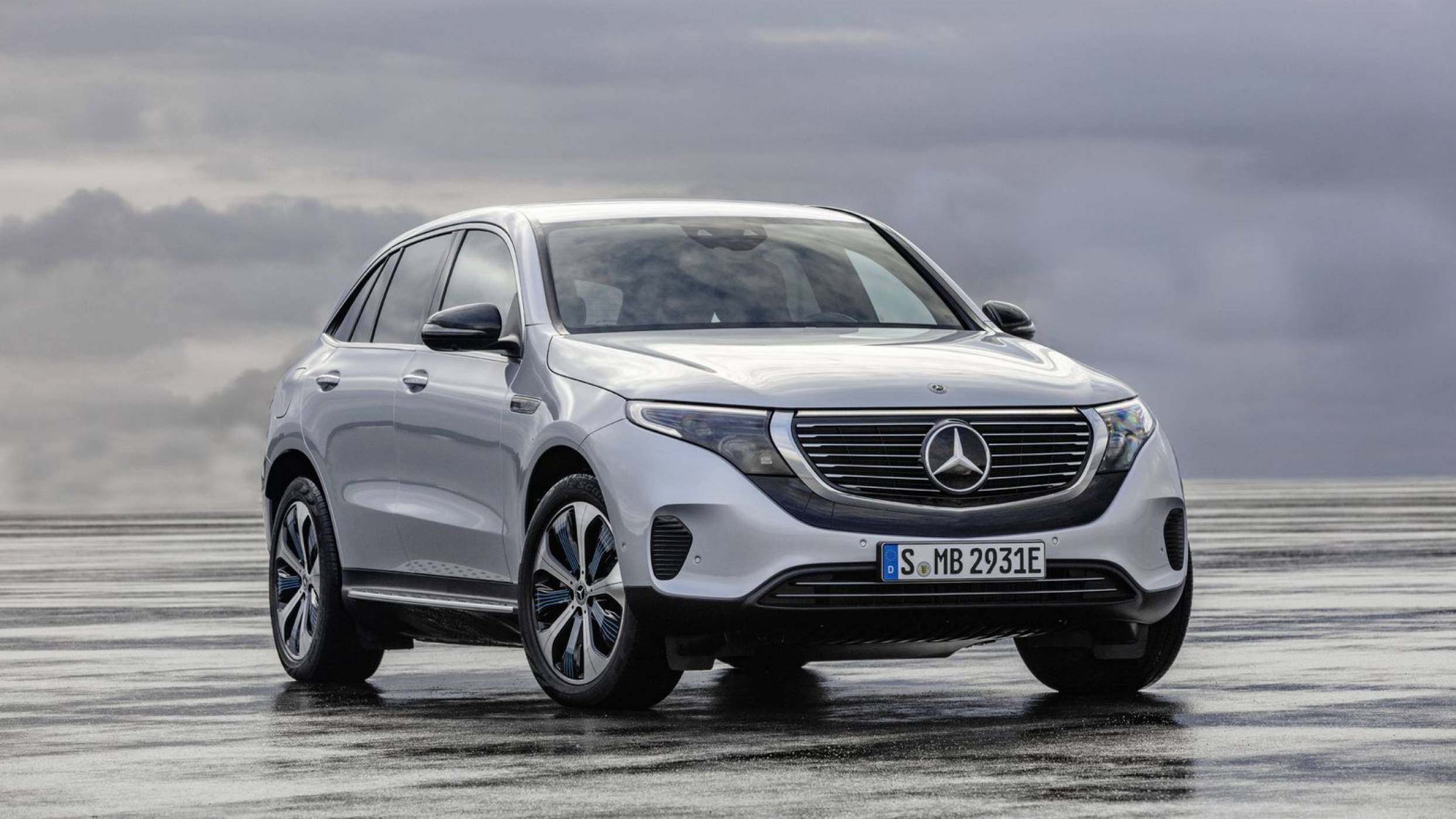 Първата изцяло е-кола на Mercedes е могъщ SUV със сериозен пробег