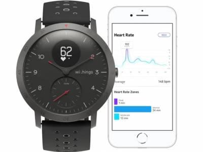 Withings се завръща с хибридния умен часовник Steel HR Sport