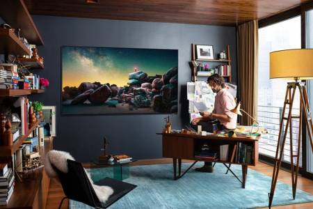 85-инчовият 8К телевизор на Samsung вече се продава за 15 000 долара