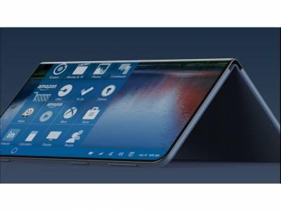 Microsoft разработва смартфон с два екрана?