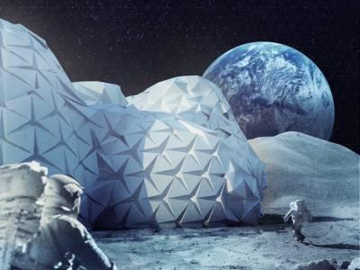 Извънземна архитектура: 9 невероятни проекта за колонии на Луната
