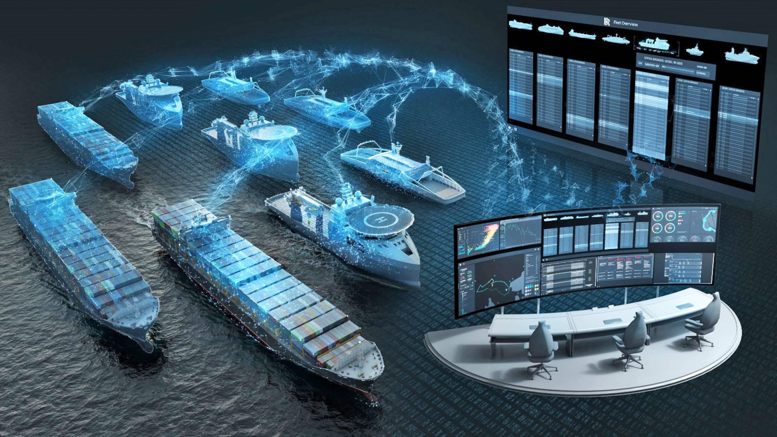 Rolls-Royce и Intel в неочаквано партньорство за самоуправляващи се кораби